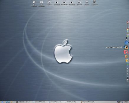 brushed macosx theme by laggy