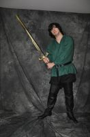 Male Rogue Stock 17 by FairieGoodMother