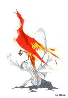 phoenix from the ashes by Okha