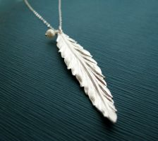 Feather by JuneDesignsJewelry