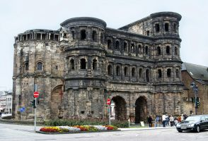 Porta Nigra- Black Gate by CitizenFresh