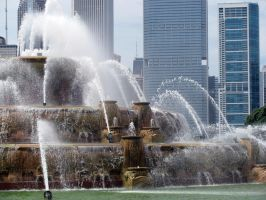 Buckingham Fountain by RiseAgainstMe18