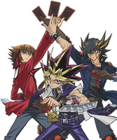Yu-Gi-Oh! Bonds Beyond Time Protagonists's Render by AESD