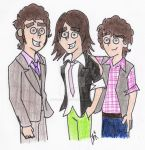 Jonas Brothers go DP style:P by gryffindor-ghost