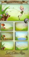 Fantasy Background V34 by DIGI-3D