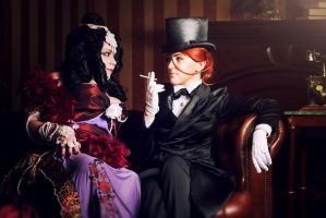Trinity blood cosplay: Mary and Jane (manga) by alberti