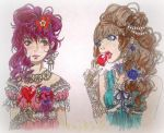 Garnet and topaz by Grotesque-89