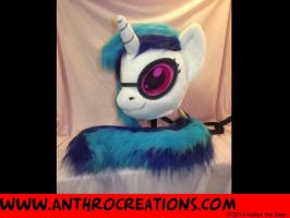 Partial VinylScratch Pony Partial by AtalontheDeer