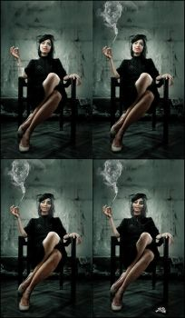 Cessation Transition by Queen--B