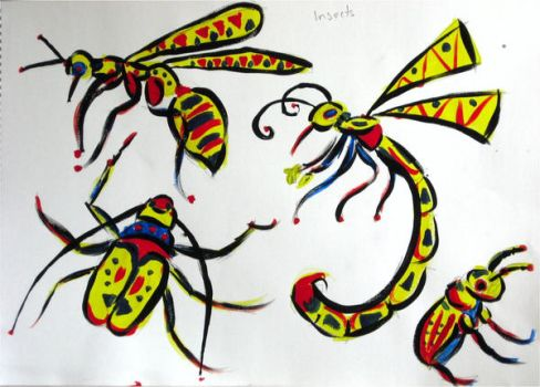 Insect Designs2 by yes-im-weird