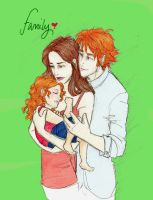 Bella, Edward and Renesmee by twilights-mia