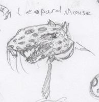 Animal Office - Leopard Mouse by HJTHX1138