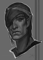 Iorveth by Rabbit-Seeker
