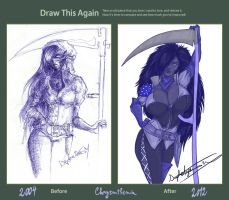Draw this Again - Chrysanthemia by DaphneArgent