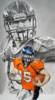 Tim Tebow by CHaverlandArt
