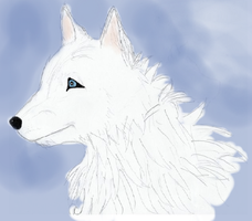 White Wolf... 2 I guess by artloverrsnp