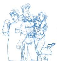 Dr Horrible Sketch by Kanthara