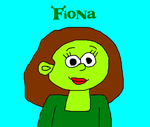 Fiona the Ogre from Shrek by MikeEddyAdmirer89