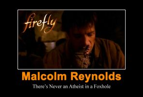 Malcolm Reynolds Motivational by EspionageDB7