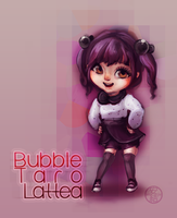 Bubble Taro Lattea by angitsai