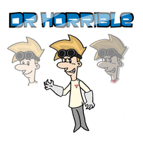 Dr. Horrible by MaxGraphix