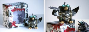 Jetpack Penguin with Gear by spulunk