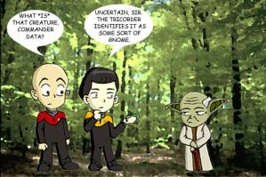 Star Wars - Star Trek Humor by mpcp13