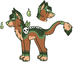 Witch Doctor Adopt (CLOSED) by all-type-adopts