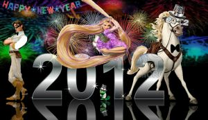 Tangled New Year by x12Rapunzelx