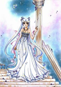 C: Princess Serenity by MTToto