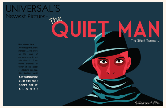 The Quiet Man Poster by Jarvisrama99