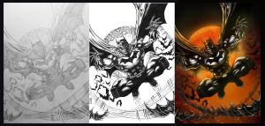 BATMAN 2012 STEP BY STEP by barfast