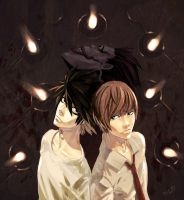 Death_Note::FANART:: by thiagooliveira
