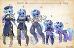 Types Luna s1 by shepherd0821