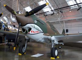 Curtiss P-40C Warhawk Complete by shelbs2