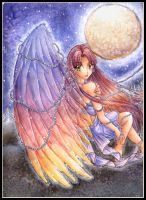 .::Moonlit Angel::. by Mew-Sumomo