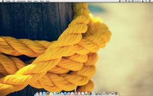 Mac desktop by TigerCat-hu