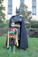 Batman and Son by ComicChic19