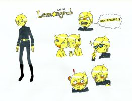 Lemongrab (can ask ) by gmil123