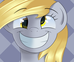 Derpy time by sykobelle