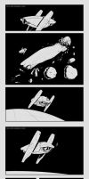 Space comic test by IZRA