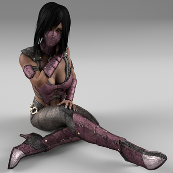Mileena MKX 01 by DragonLord720