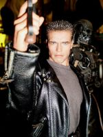 Terminator statue by force2reckon