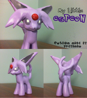 My Little Espeon by WaitingForCoffee