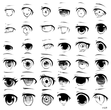 Eyes (2-5) by evenica