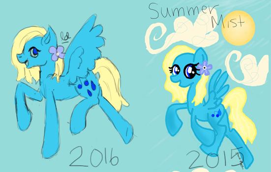 Draw This Again // 2016 vs. 2015 by LuminescentDemon