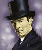 Sherlock special promo picture by Annocent