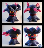 Misdreavus plushie by Eyes5