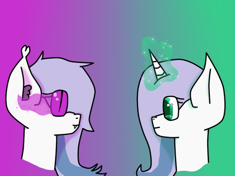 Same pony, different magic by PurpleMyst22