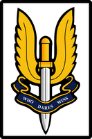 British SAS Insignia by Namelessv1